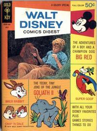 Cover Thumbnail for Walt Disney Comics Digest (Western, 1968 series) #23