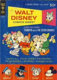 Cover Thumbnail for Walt Disney Comics Digest (Western, 1968 series) #24
