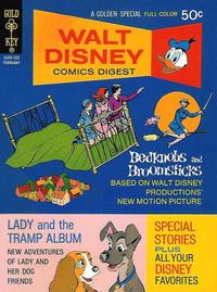 Cover Thumbnail for Walt Disney Comics Digest (Western, 1968 series) #33