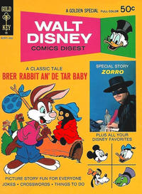 Cover Thumbnail for Walt Disney Comics Digest (Western, 1968 series) #39
