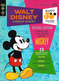 Cover Thumbnail for Walt Disney Comics Digest (Western, 1968 series) #40
