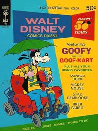 Cover Thumbnail for Walt Disney Comics Digest (Western, 1968 series) #43 [Gold Key]