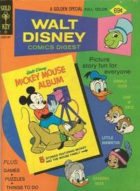 Cover Thumbnail for Walt Disney Comics Digest (Western, 1968 series) #50