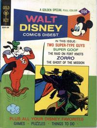 Cover Thumbnail for Walt Disney Comics Digest (Western, 1968 series) #52 [Gold Key]