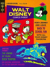 Cover Thumbnail for Walt Disney Comics Digest (Western, 1968 series) #55
