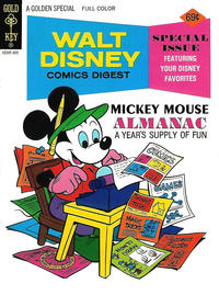 Cover Thumbnail for Walt Disney Comics Digest (Western, 1968 series) #57