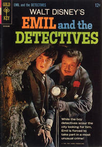 Cover Thumbnail for Walt Disney's Emil and the Detectives (Western, 1965 series) #[nn]