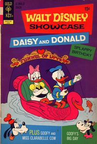Cover Thumbnail for Walt Disney Showcase (Western, 1970 series) #8 [Gold Key]