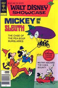 Cover Thumbnail for Walt Disney Showcase (Western, 1970 series) #39 [Gold Key]