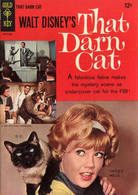 Cover Thumbnail for Walt Disney's That Darn Cat (Western, 1966 series) #[nn]