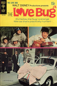 Cover Thumbnail for Walt Disney Productions Presents The Love Bug (Western, 1969 series) #[nn]