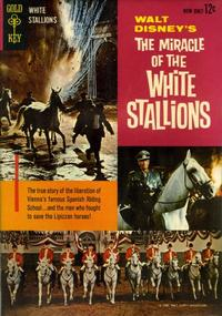Cover Thumbnail for Walt Disney's The Miracle of the White Stallions (Western, 1963 series) #[nn]