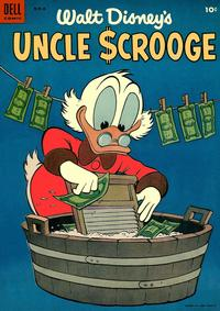 Cover Thumbnail for Uncle Scrooge (Dell, 1953 series) #6