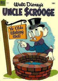 Cover Thumbnail for Walt Disney's Uncle Scrooge (Dell, 1953 series) #7