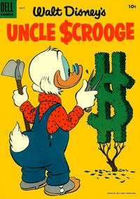 Cover Thumbnail for Uncle Scrooge (Dell, 1953 series) #9