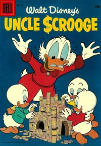 Cover Thumbnail for Walt Disney's Uncle Scrooge (Dell, 1953 series) #13