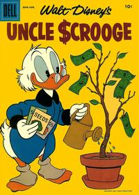 Cover Thumbnail for Uncle Scrooge (Dell, 1953 series) #18