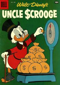 Cover Thumbnail for Walt Disney's Uncle Scrooge (Dell, 1953 series) #20