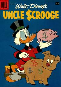 Cover Thumbnail for Uncle Scrooge (Dell, 1953 series) #21