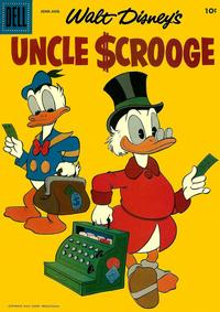 Cover Thumbnail for Walt Disney's Uncle Scrooge (Dell, 1953 series) #22
