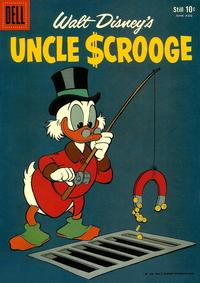 Cover Thumbnail for Walt Disney's Uncle Scrooge (Dell, 1953 series) #26