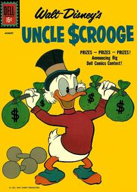 Cover Thumbnail for Uncle Scrooge (Dell, 1953 series) #34