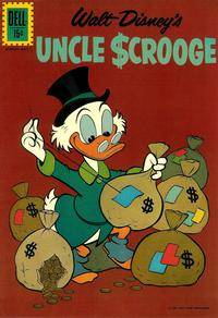 Cover Thumbnail for Uncle Scrooge (Dell, 1953 series) #37