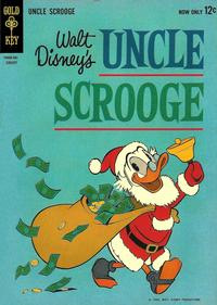 Cover Thumbnail for Uncle Scrooge (Western, 1963 series) #40