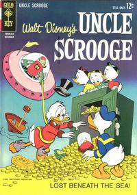 Cover Thumbnail for Uncle Scrooge (Western, 1963 series) #46