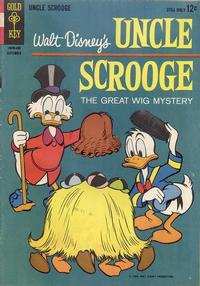 Cover Thumbnail for Uncle Scrooge (Western, 1963 series) #52