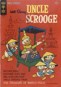 Cover Thumbnail for Uncle Scrooge (Western, 1963 series) #64