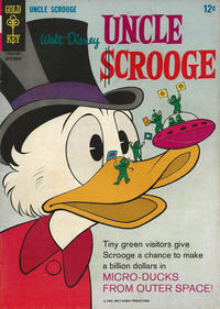 Cover Thumbnail for Uncle Scrooge (Western, 1963 series) #65