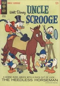 Cover Thumbnail for Uncle Scrooge (Western, 1963 series) #66