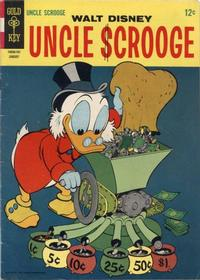 Cover Thumbnail for Uncle Scrooge (Western, 1963 series) #67