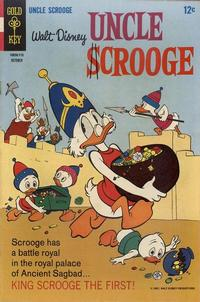 Cover Thumbnail for Uncle Scrooge (Western, 1963 series) #71