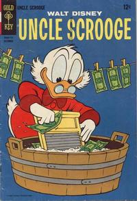 Cover Thumbnail for Uncle Scrooge (Western, 1963 series) #72