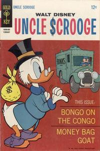 Cover Thumbnail for Walt Disney Uncle Scrooge (Western, 1963 series) #73