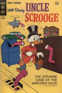 Cover Thumbnail for Uncle Scrooge (Western, 1963 series) #79