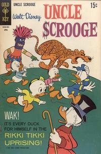 Cover Thumbnail for Uncle Scrooge (Western, 1963 series) #80