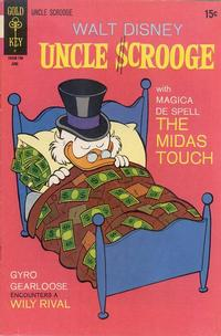 Cover Thumbnail for Uncle Scrooge (Western, 1963 series) #93
