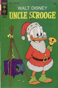 Cover Thumbnail for Uncle Scrooge (Western, 1963 series) #96 [Gold Key]