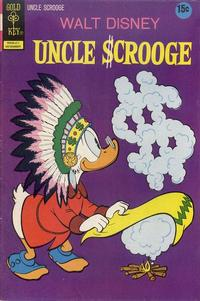 Cover Thumbnail for Uncle Scrooge (Western, 1963 series) #102