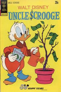 Cover Thumbnail for Uncle Scrooge (Western, 1963 series) #105
