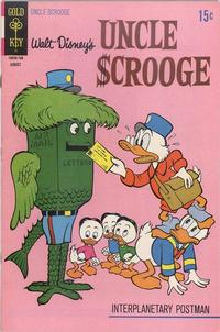 Cover Thumbnail for Uncle Scrooge (Western, 1963 series) #94