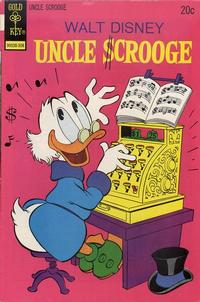 Cover Thumbnail for Uncle Scrooge (Western, 1963 series) #106 [Gold Key]