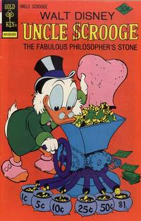 Cover Thumbnail for Uncle Scrooge (Western, 1963 series) #132 [Gold Key Variant]