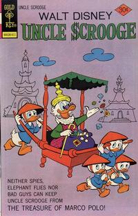 Cover Thumbnail for Uncle Scrooge (Western, 1963 series) #134 [Gold Key]