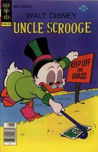 Cover Thumbnail for Uncle Scrooge (Western, 1963 series) #143 [Gold Key]