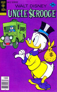 Cover Thumbnail for Uncle Scrooge (Western, 1963 series) #151 [Gold Key]