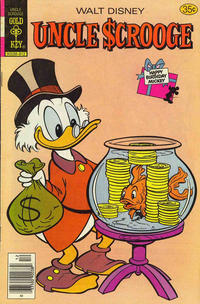 Cover Thumbnail for Uncle Scrooge (Western, 1963 series) #159 [Gold Key]